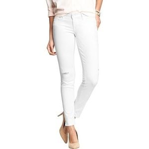 Midrise old navy bright white jeans size 20 petite